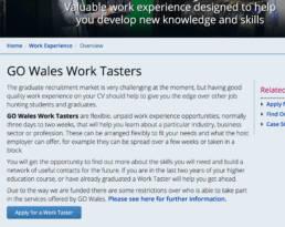 GO Wales Tasters description