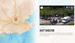 Just Shelter Story Map Video