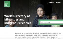 Minority Rights Group directory