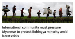 Rohingya article Myanmar