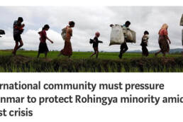 Rohingya article Myanmar