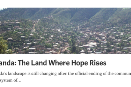 rwanda article the land where hope rises