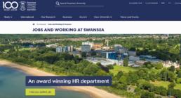 Swansea University HR website an award winning hr department